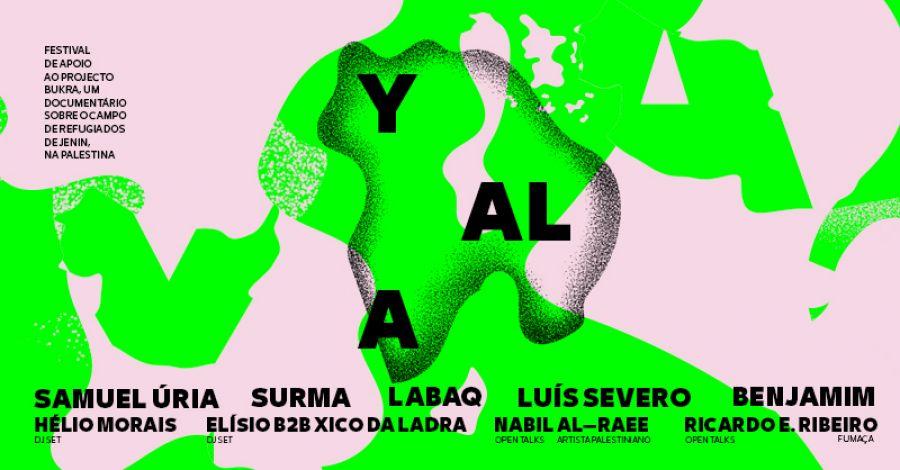 "Samuel Úria, Luís Severo, Benjamim, Surma ou LaBaq juntam-se para apoiar documentário ""Bukra"", filmado na Palestina"