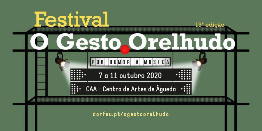O Gesto Orelhudo arranca esta quarta-feira, em Águeda