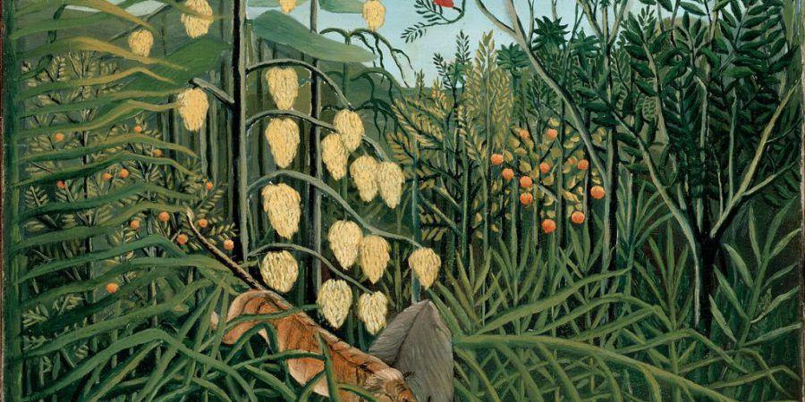 "A pintura ""naive"" de Henri Rousseau"