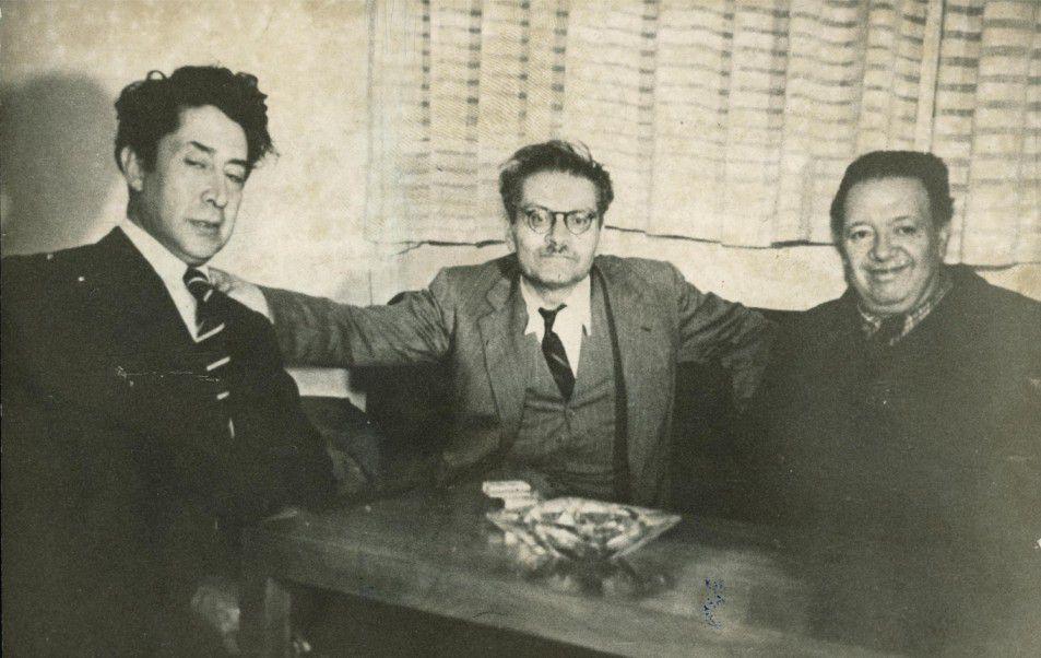 "O muralismo mexicano e os seus ""tres grandes"": Rivera, Orozco e Siqueros"