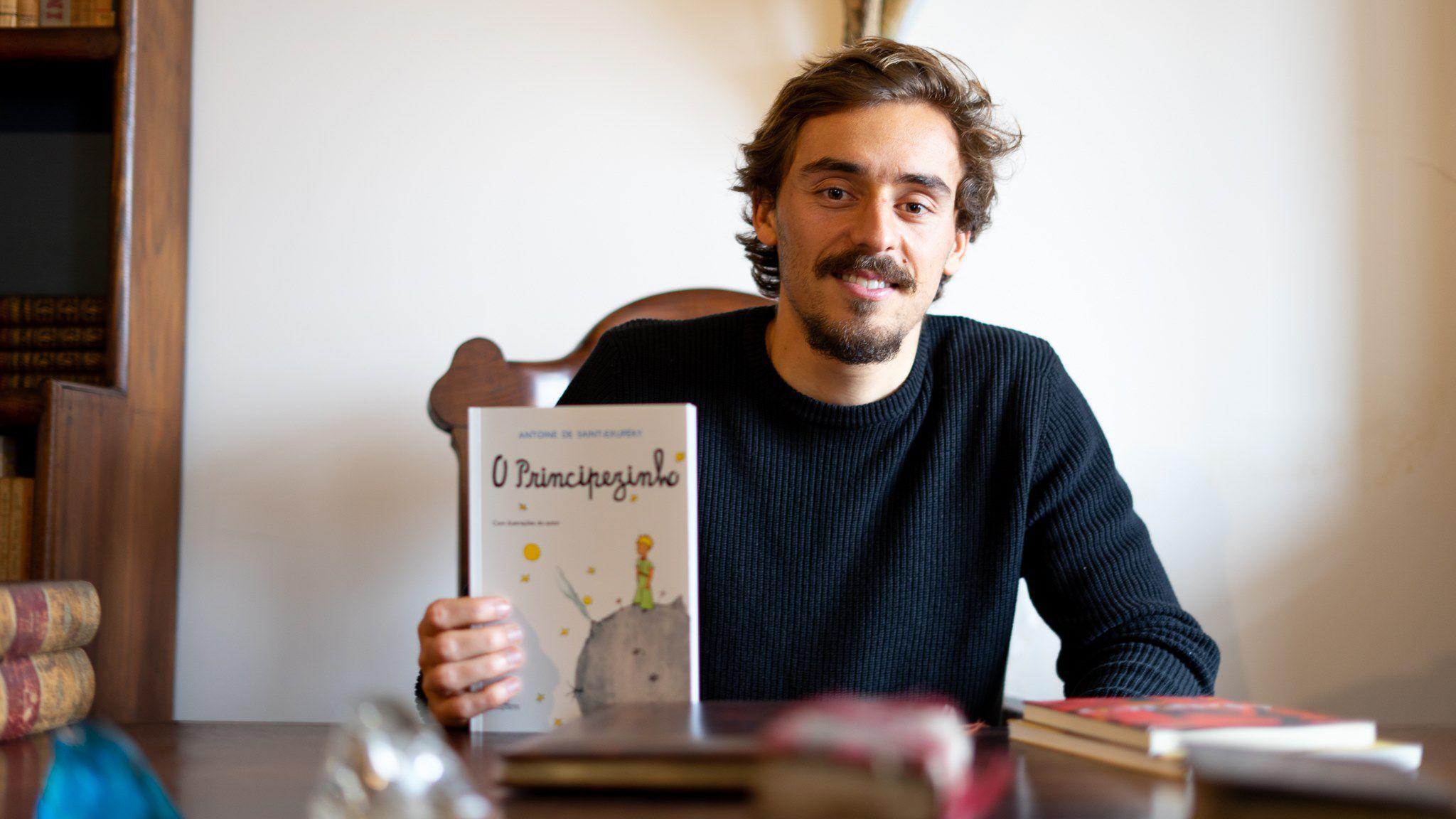 Francisco Geraldes cria projecto para promover a leitura