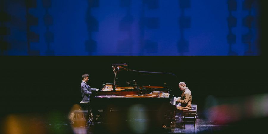 Quando Vijay Iyer e Craig Taborn partilham dois pianos e uma sonoridade