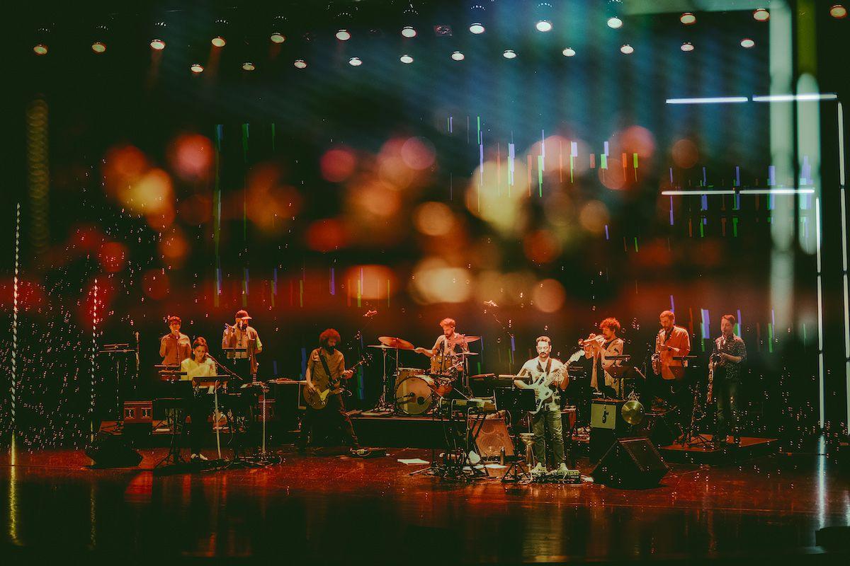 Bruno Pernadas e a sua big band moderna