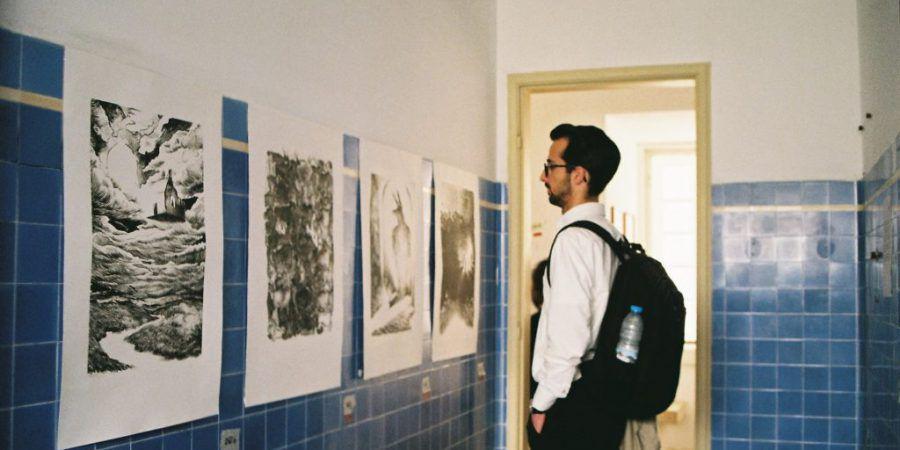 A Base Lx, em Cascais, mostrou o trabalho de 64 jovens artistas