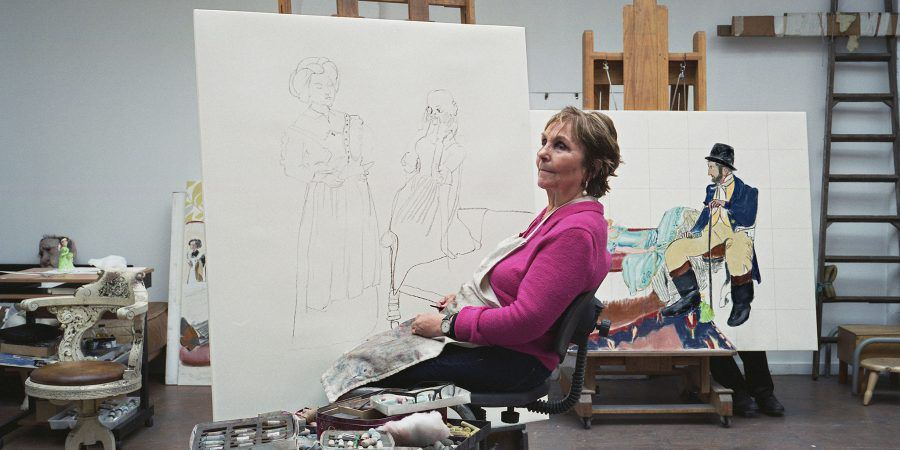 Paula Rego, um dos maiores nomes da pintura portuguesa
