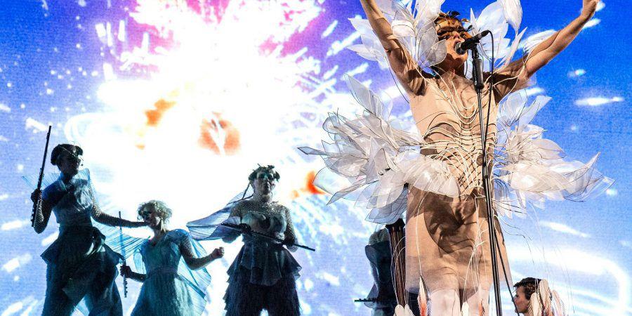 Björk no Rockhal: uma utopia cinemática e deslumbrante
