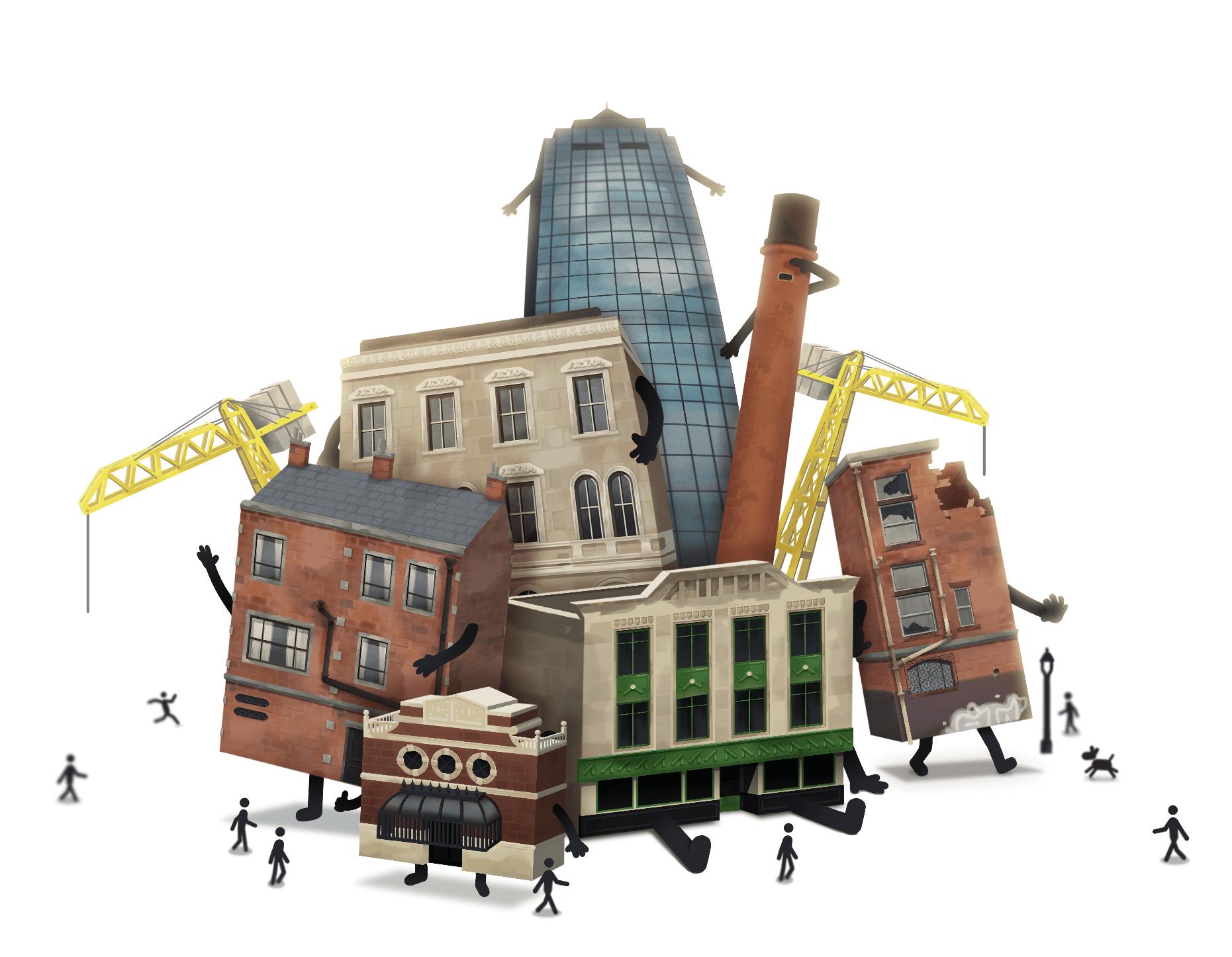 """""""Buildings Have Feelings Too!"""": o betão também chora?"""