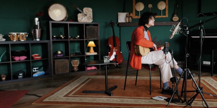 Entrevista. Para Arianna Casellas as canções são fundamentais, tal como o vinho à refeição