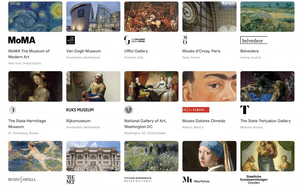 Museus de todo o mundo oferecem visitas virtuais gratuitas