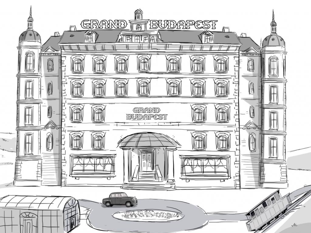 """Wes Anderson narra versão animada de """"The Grand Budapest Hotel"""""""
