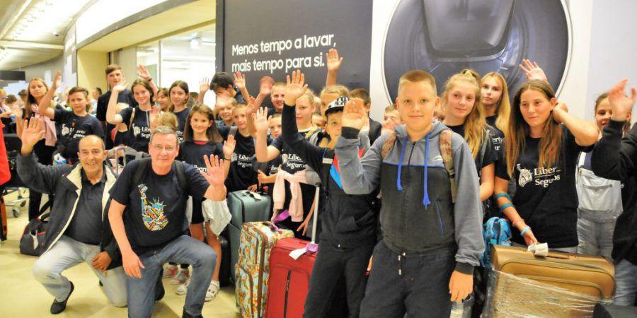 Crianças de Chernobyl regressam a Portugal para férias de Verão