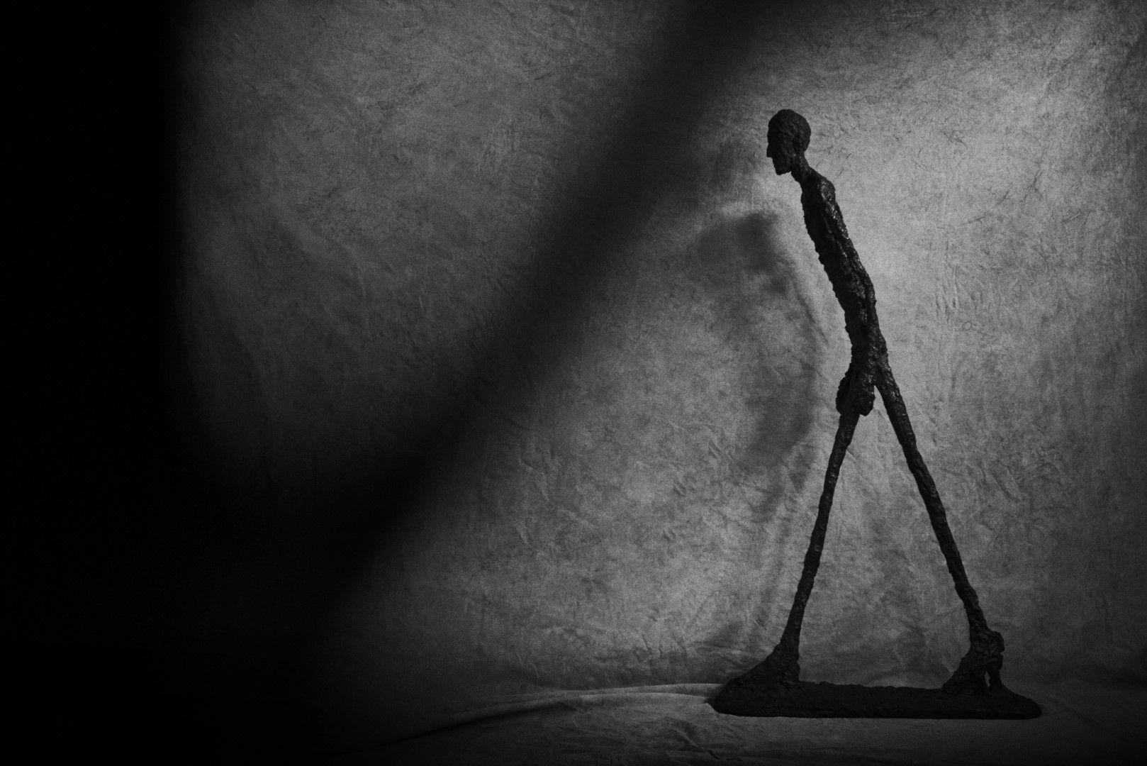 Ensaio. Giacometti-Lindbergh: fulgurações invisíveis do corpo sensível