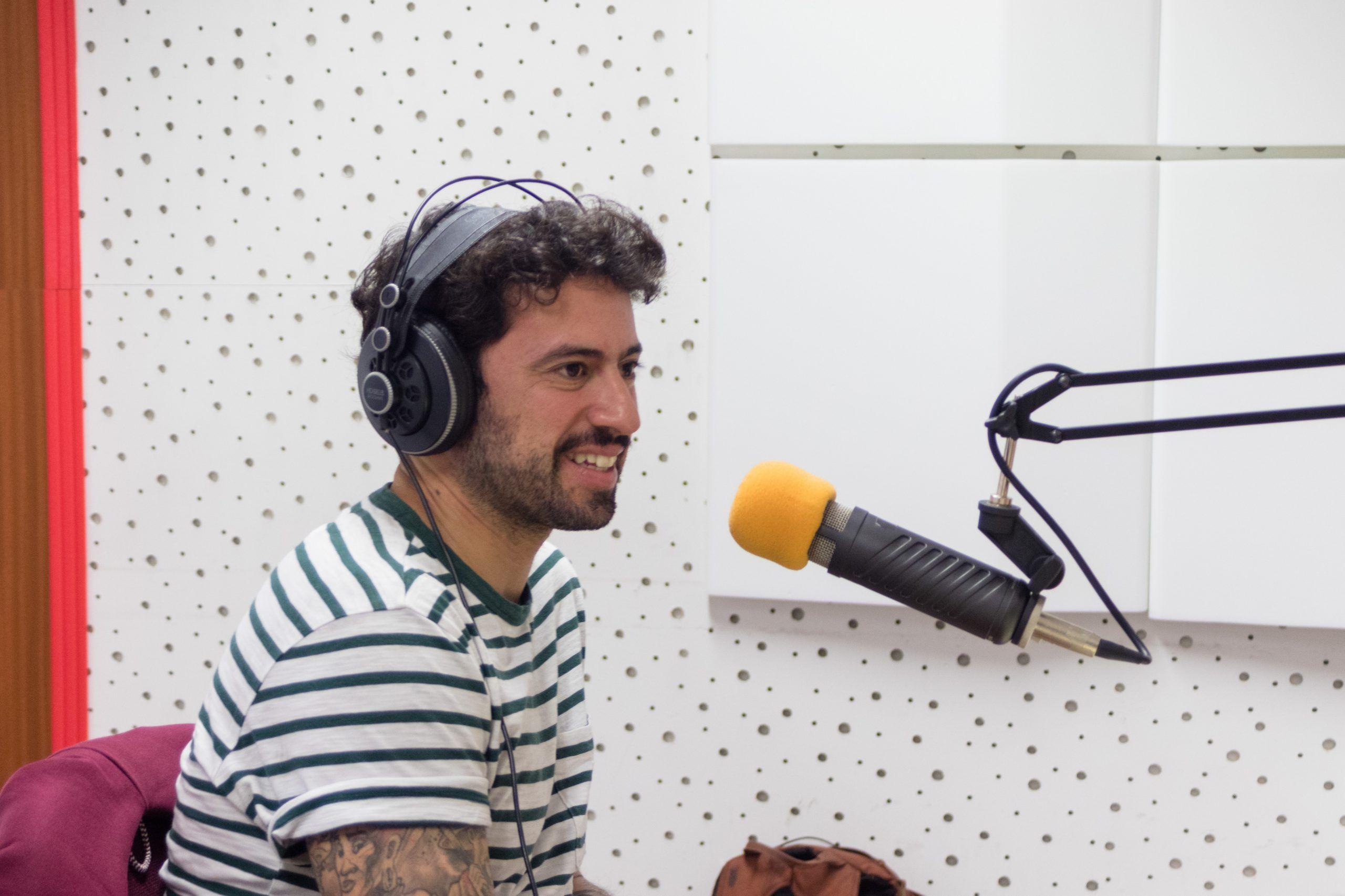 """Diogo Faro: """"Gostava de refletir sobre a sociedade e o mundo e tentar passar isso com alguma graça para um livro"""""""