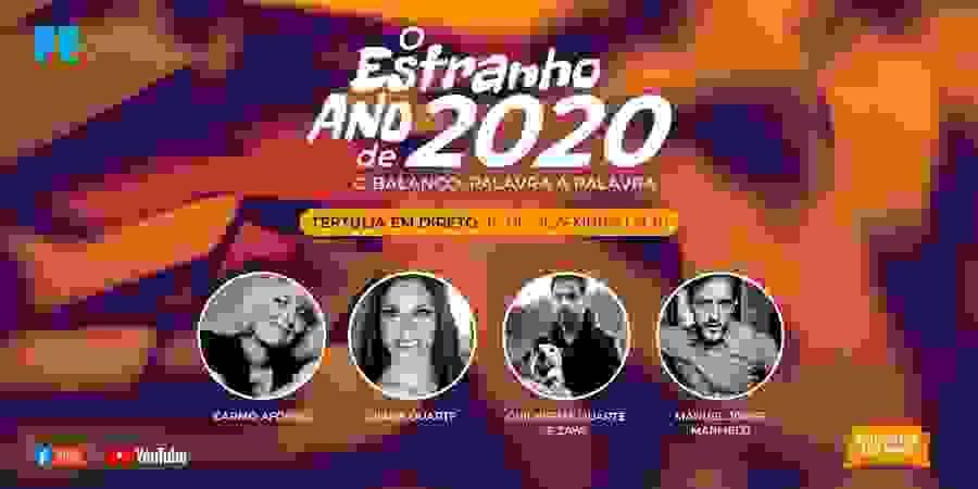 Carmo Afonso, Diana Duarte, Guilherme Duarte, com a Zaya, e Manuel Jorge Marmelo fazem balanço de 2020