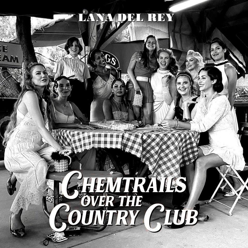 """""""Chemtrails Over the Country Club"""". Temos um vinil do novo disco de Lana Del Rey para sortear"""