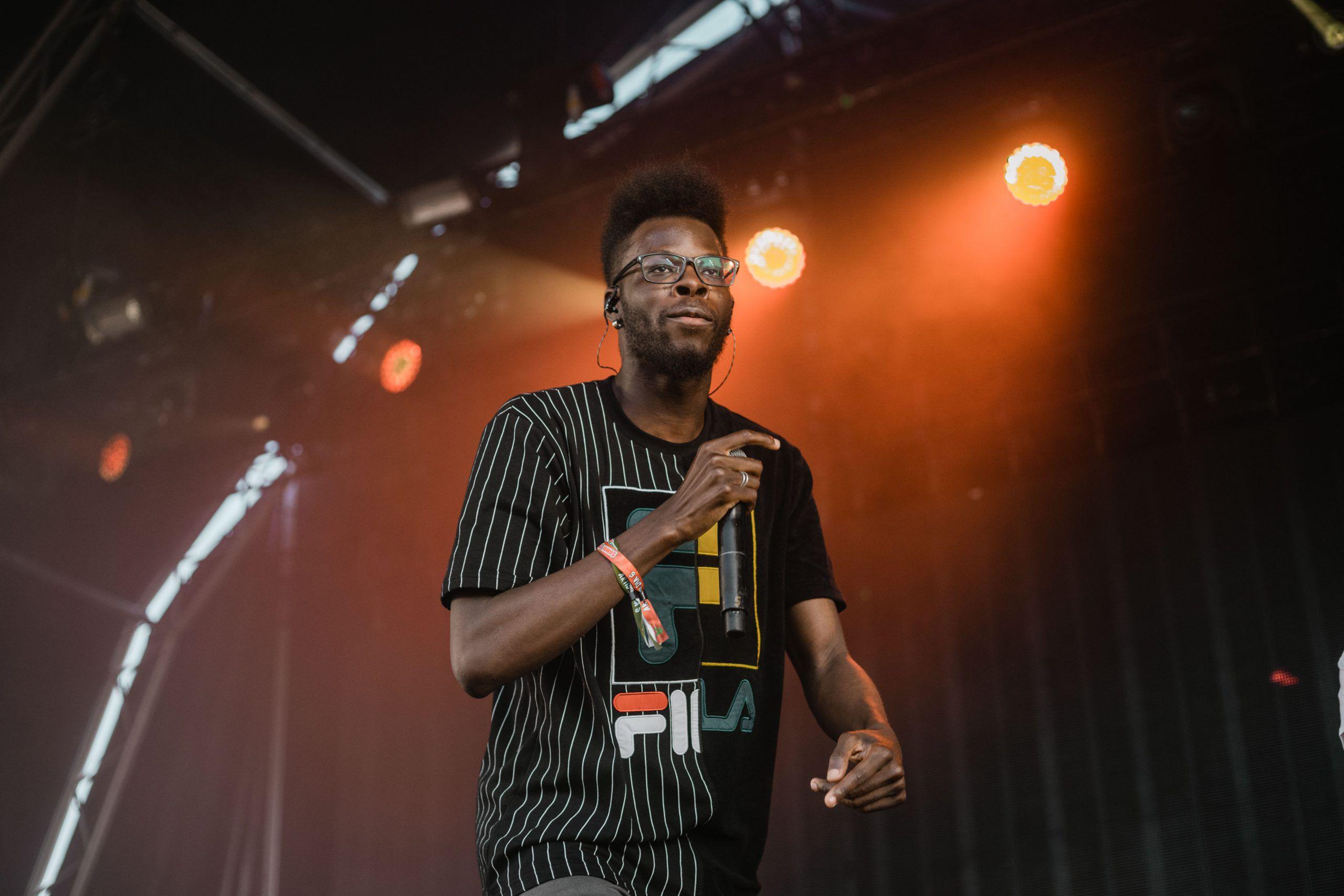 Papillon no palco do Sumol Summer Fest, em 2019, durante o concerto de GROGNation (Tiago Filipe/CCA)
