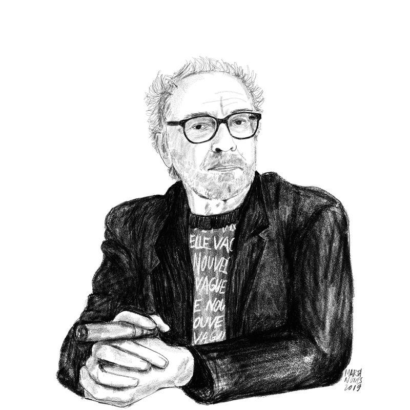 A Nouvelle Vague aos olhos da vida e da obra de Jean-Luc Godard