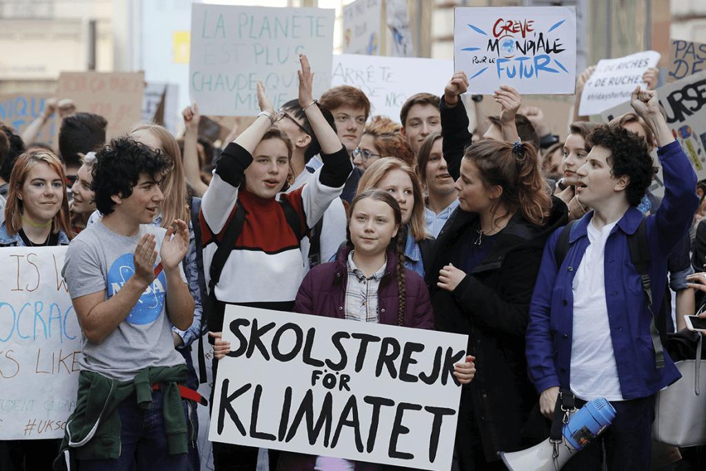 Greta Thunberg está a preparar série documental com a BBC