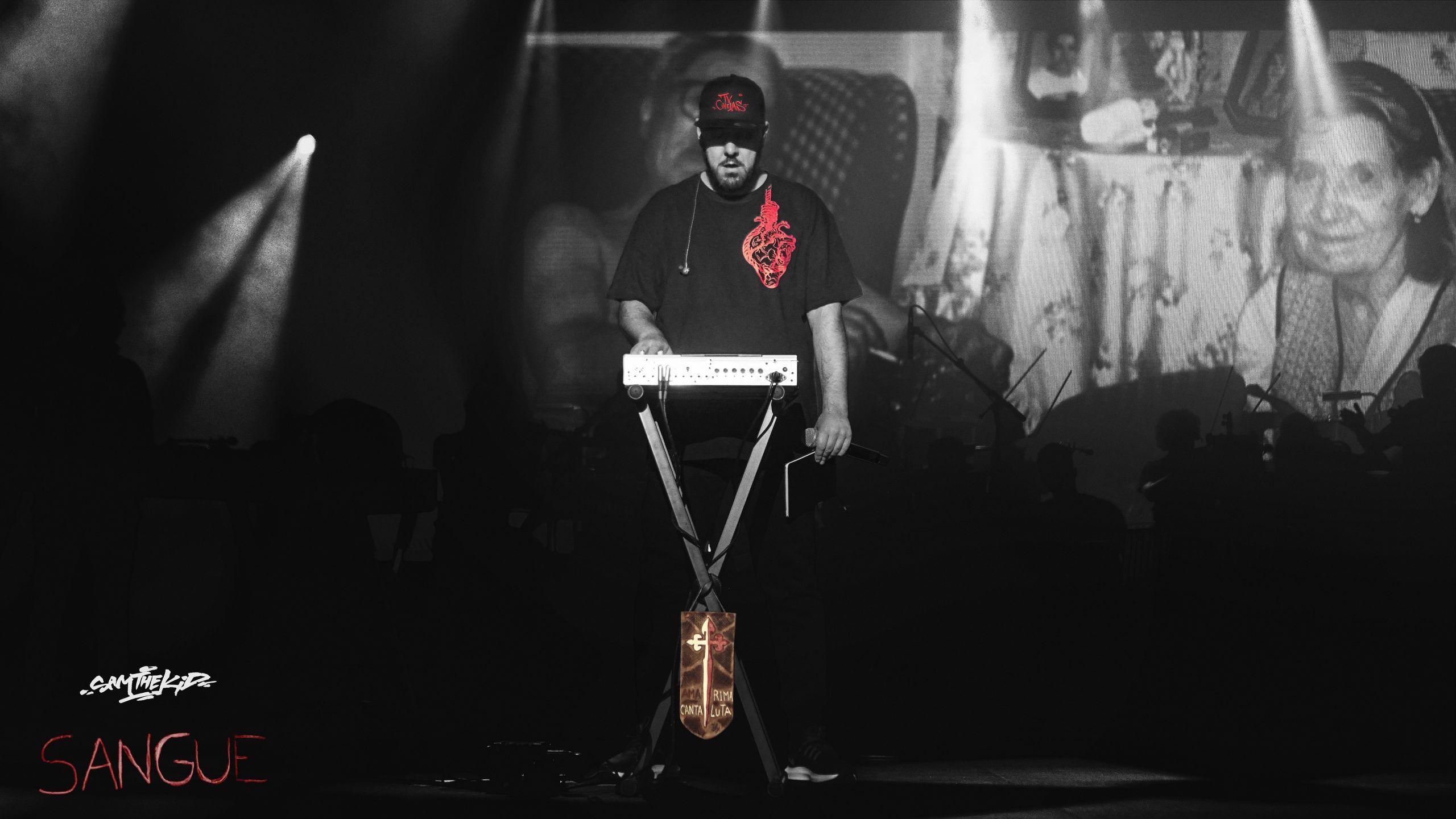 """""""Sangue"""" é o terceiro vídeo retirado dos concertos de Sam The Kid nos Coliseus"""