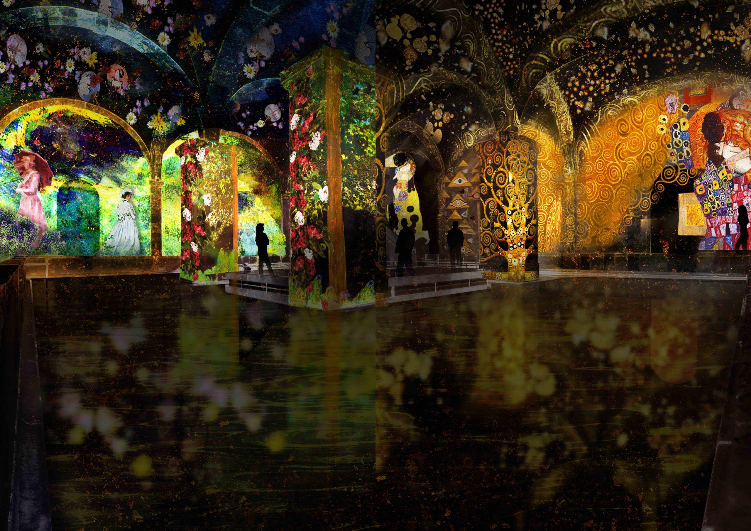 Exposição imersiva sobre Monet e Klimt em Lisboa