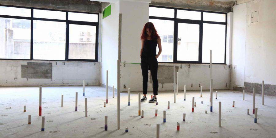 RE7: a exposição temporária num edifício em mudança
