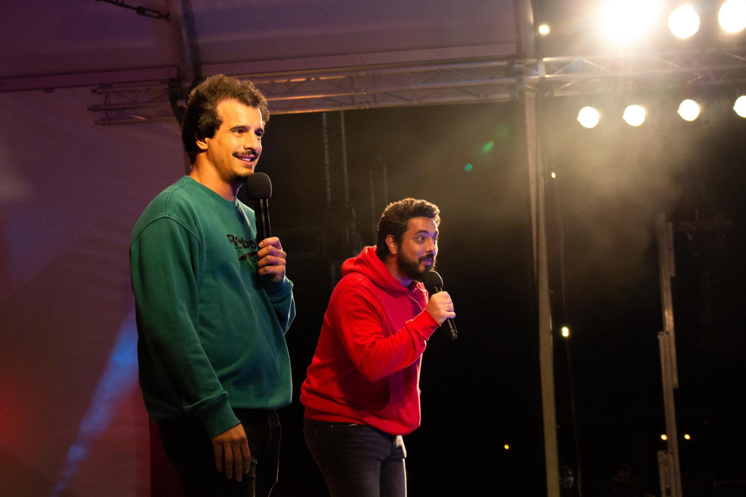 Guilherme Geirinhas e Diogo Batáguas (Gustavo Carvalho/CCA)