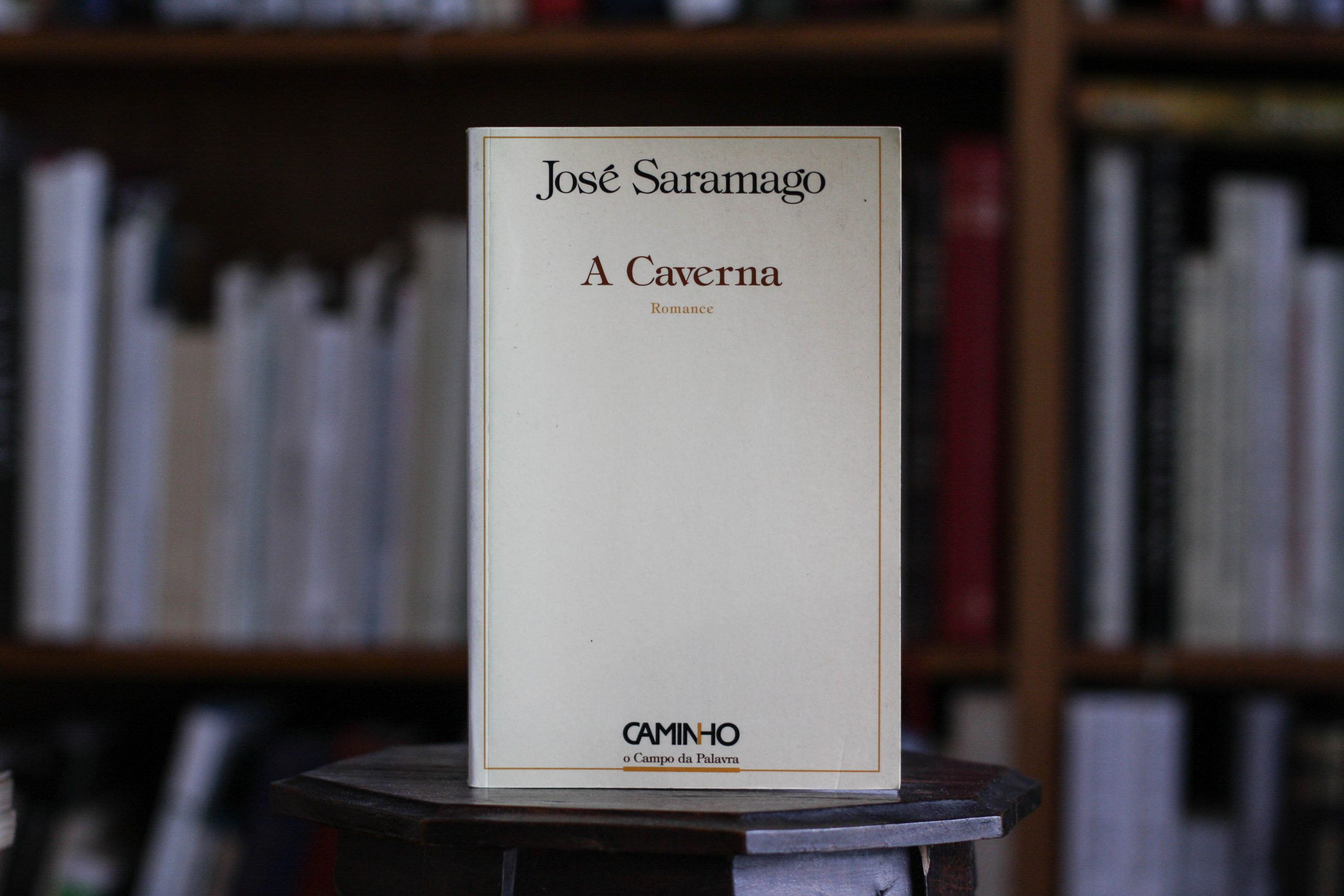 José Saramago, 'A Caverna', 1ª edição (Passatempo)