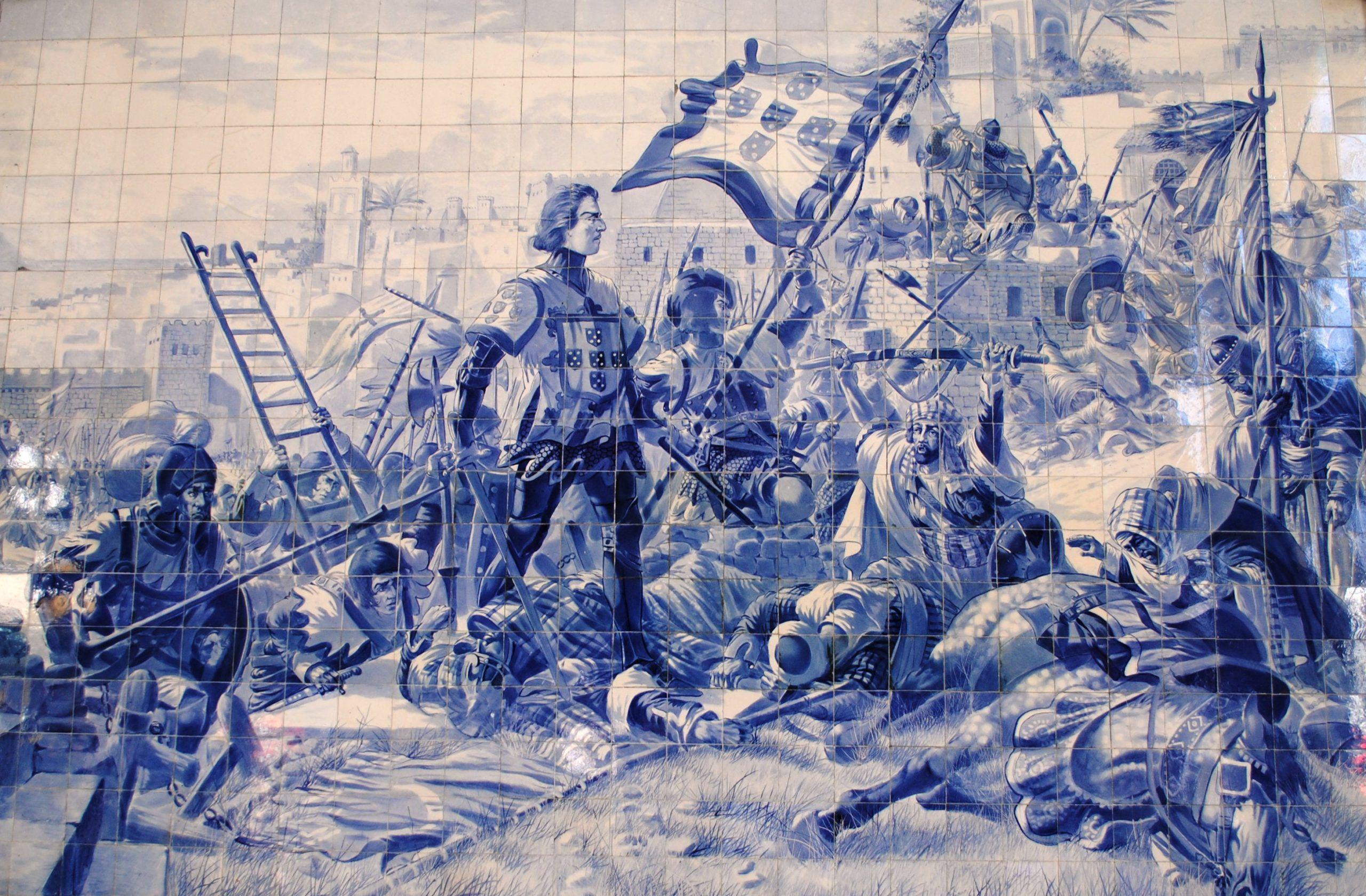 A história do azulejo português