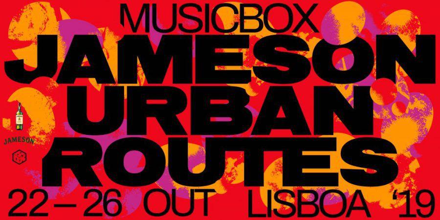 Jameson Urban Routes: concertos de Dj Haram, Badsista, Dj Narciso e Odete (passatempo)