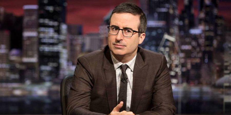O Homem que Grita Televisão: 'Last Week Tonight'