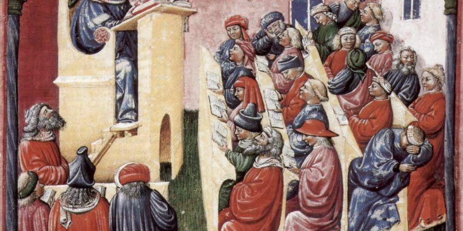 Os passos filosóficos da Escolástica