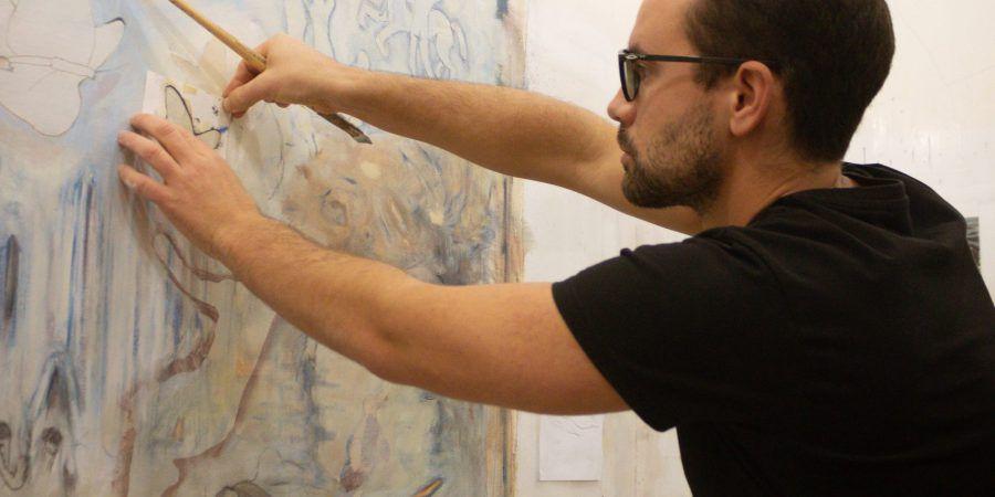 """Entrevista. Bartolomeu Gusmão: """"Sempre questionei e quis explorar o mundo e as artes plásticas concretizam esse exercício"""""""
