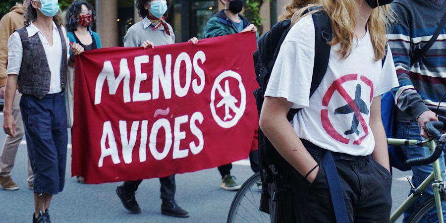 Ativistas manifestam-se em Lisboa por sistema de transportes justo e definem reivindicações