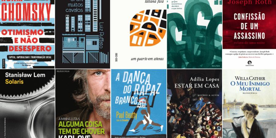 10 livros que andamos a ler