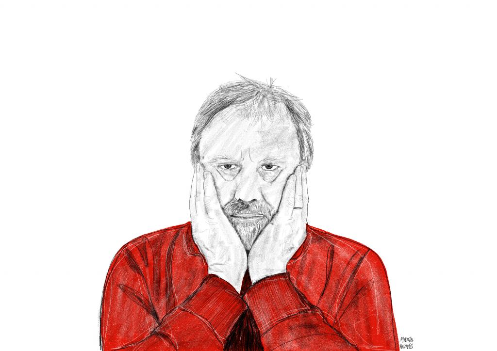 Slavoj Zizek, um dos mais consagrados pensadores contemporâneos