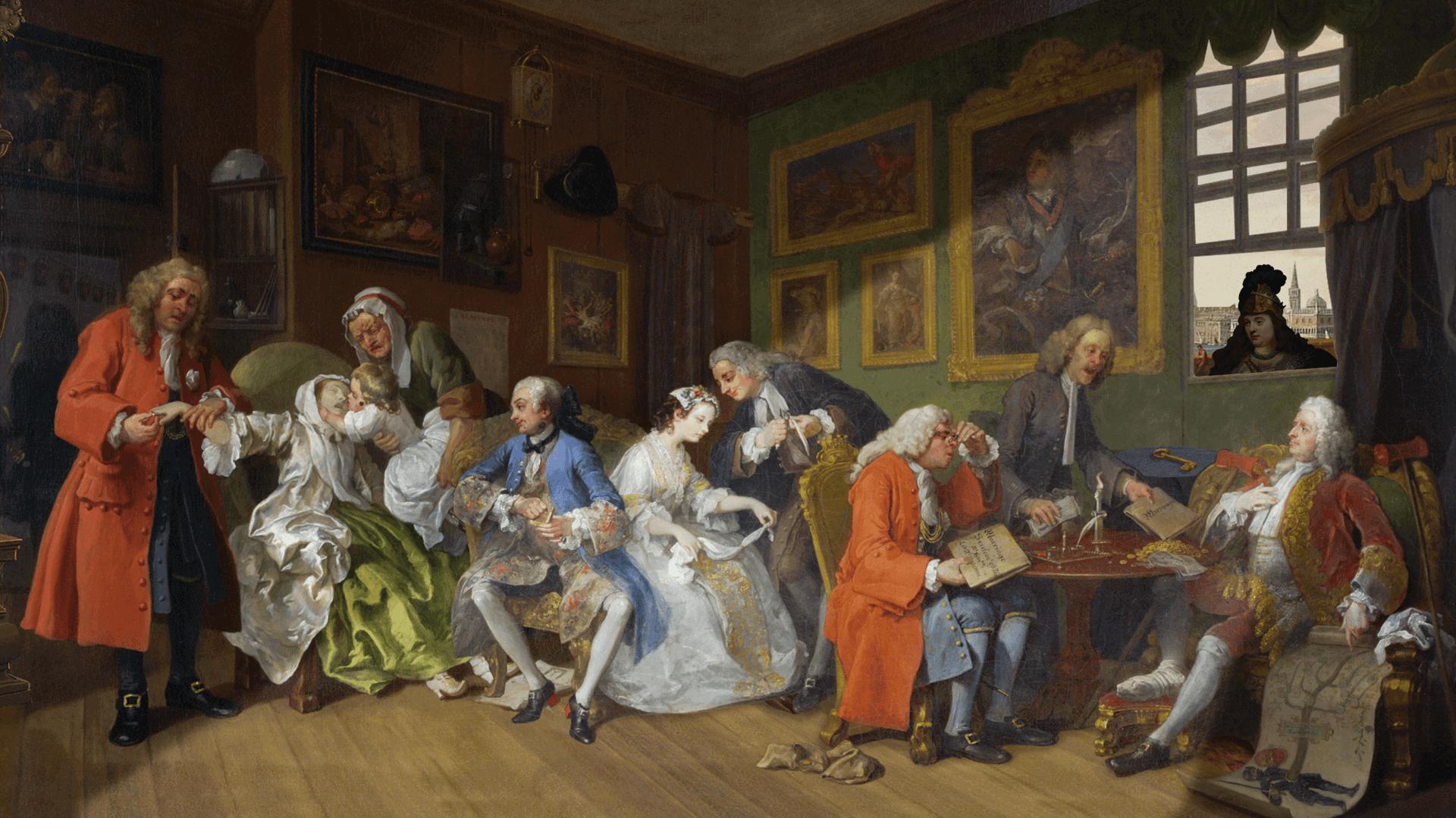 """""""The Procession to Calvary"""": uma galhofada de arte clássica"""