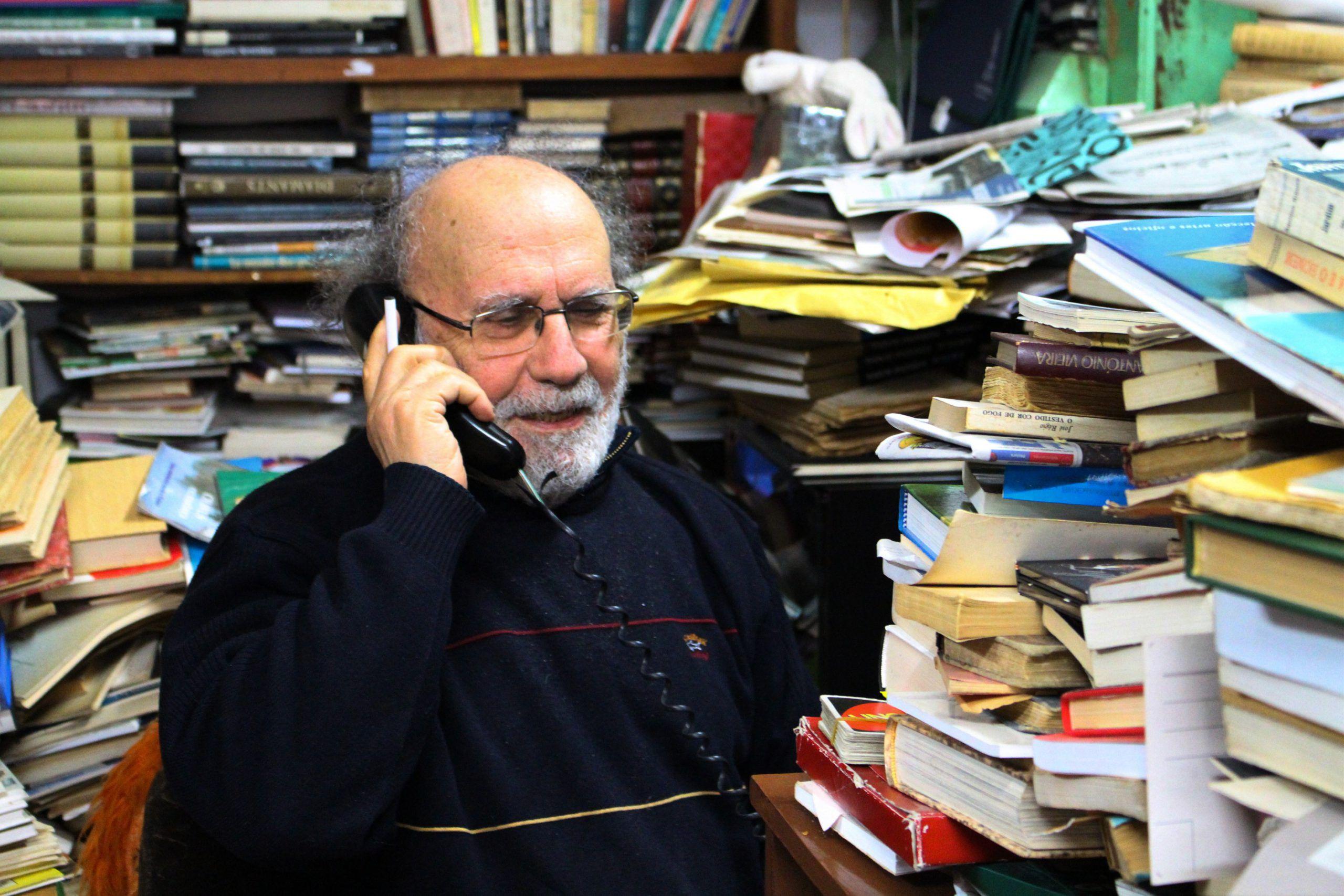 """Entrevista. José Ribeiro, da editora Ulmeiro: """"No dia em que deixarmos de sonhar é porque estamos mortos"""""""