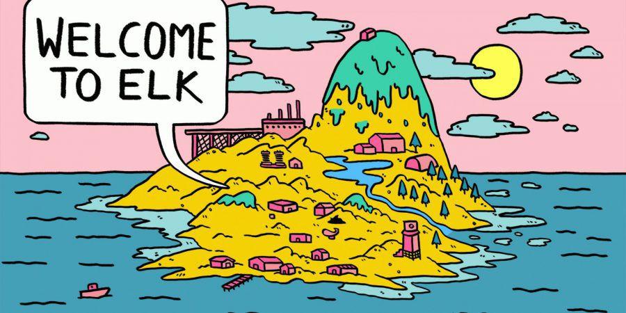 """""""Welcome to Elk"""": bem-vindos à ilha das histórias"""