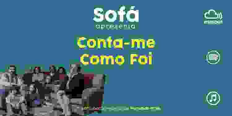 """Podcast Sofá. Fernando Pires conta-nos como é ser Toni, na série """"Conta-me como Foi"""""""