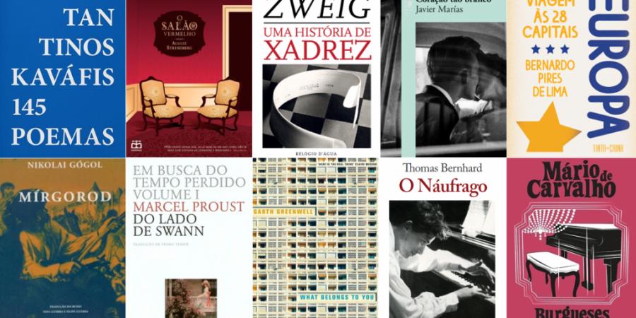10 livros para leres nas férias de Verão