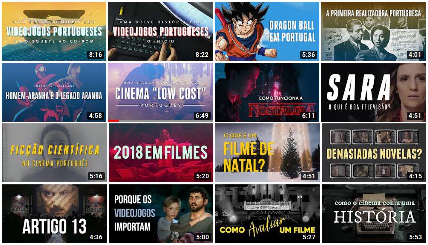 Cineblog: um canal português do Youtube sobre cinema e televisão