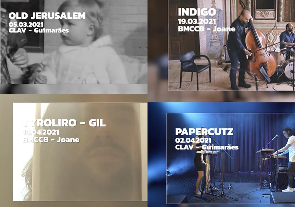 Old Jerusalem, Indigo Quintet, :papercutz e Tyroliro nas Clav Live Session