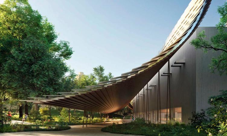 Fundação Calouste Gulbenkian apresenta o futuro do seu novo jardim, desenhado pelo arquitecto Kengo Kuma