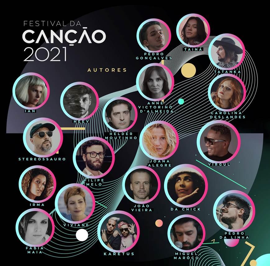 Festival da Canção 2021. RTP revela os 20 autores das canções