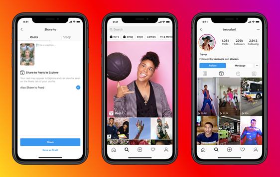 """Facebook lança """"Instagram Reels"""" em Portugal. Uma espécie de Tik Tok"""