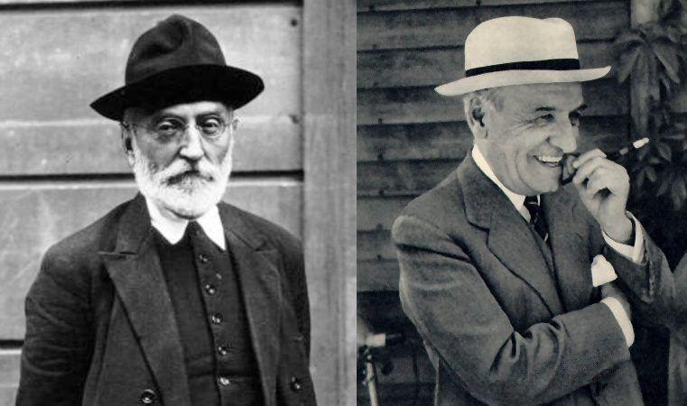 A obra e o pensamento de Miguel de Unamuno e José Ortega y Gasset