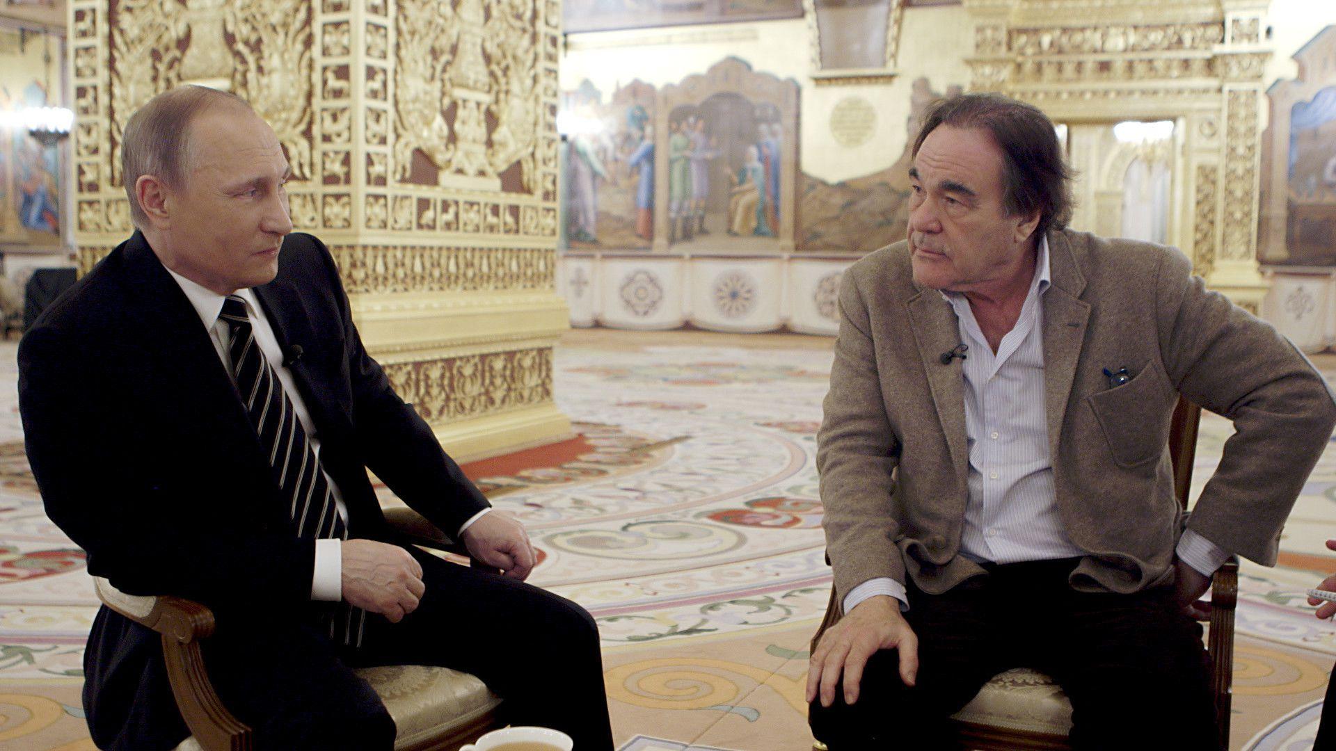 'The Putin Interviews' o projecto que une Vladimir Putin e Oliver Stone
