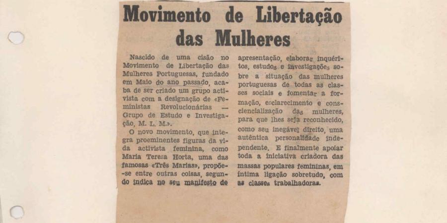 A manifestação feminista que não chegou a acontecer, 45 anos depois