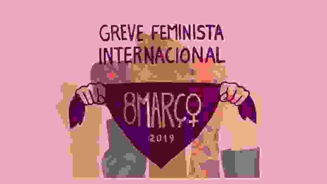 A 8 de Março acontece a greve feminista internacional