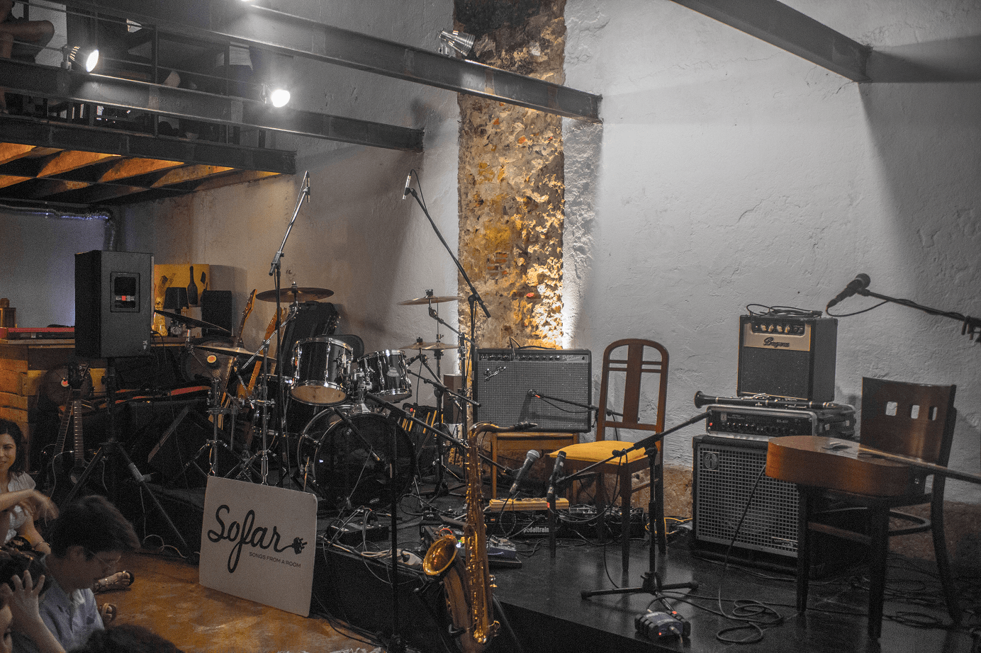 Sofar Sounds: da música para o espaço